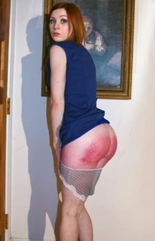 Girls Spanked Hard