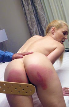 Spanking Ariel Anderson