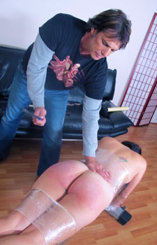 Samantha Woodley Spanked