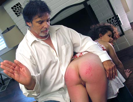 Spanking Bailey Paige