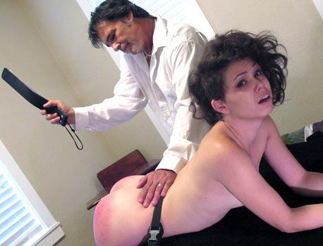 Spanked Woman