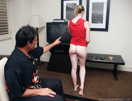 Lizzy Madison Spanked
