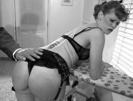 Ten Amorette Spanked