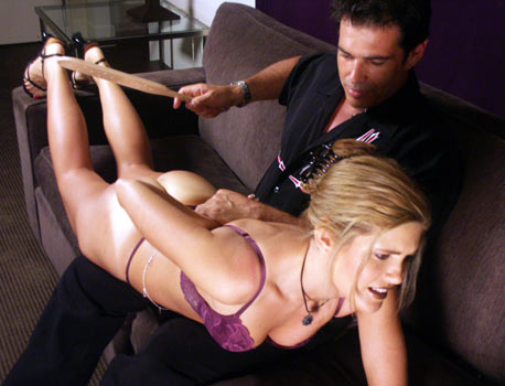 Spanking Beautiful Woman