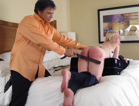 Hollywood Actress Spanked
