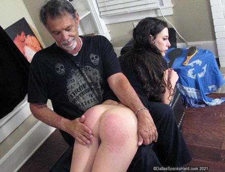 Dallas spanks hard