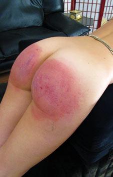 Hard Bare Butt Spanking