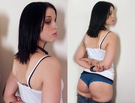 kailee spanking models - Kailee Spanked Hard ...