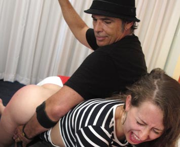 Hard corporal punishment for sophia 5